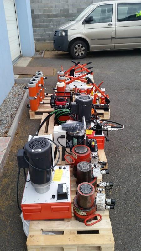 Bérleti lehetőség bevezetése az SPX Power Team hidraulikus eszközökre