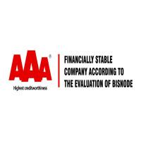 Tanúsítvány a pénzügyileg legstabilabb cégeknek